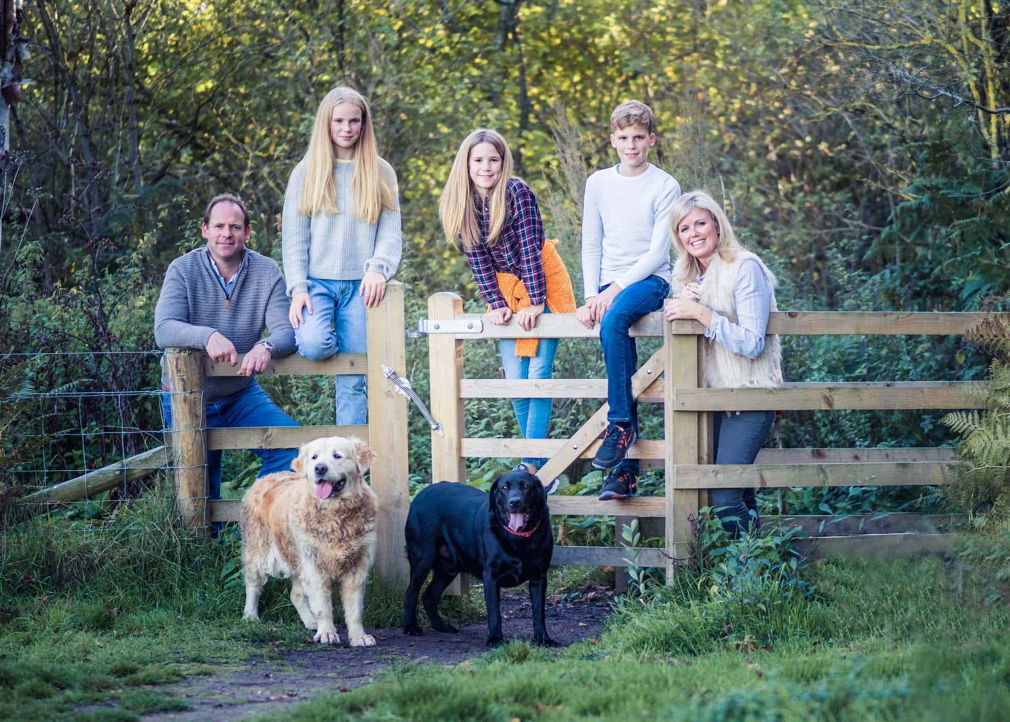 Devon outdoor family Photographer
